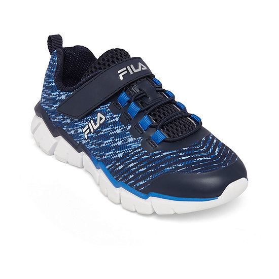 Fila Overfuel 2.5 Boys Hook and Loop Running Shoes