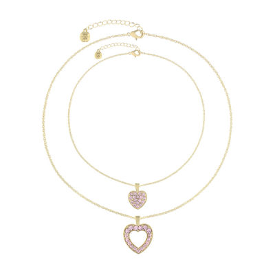 Monet Jewelry Pink Gold Tone 2-pc. Jewelry Set