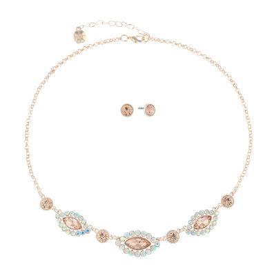 Monet Jewelry Orange Rose Tone 2-pc. Jewelry Set