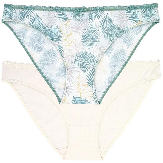 Dorina Joyce 2-pc Microfiber Brief Panty