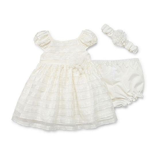 Marmellata Baby Girls Short Sleeve A-Line Dress