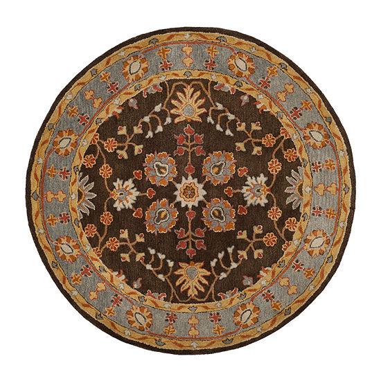 Safavieh Heritage Collection Johna Oriental Round Area Rug