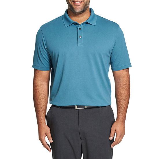 Van Heusen Big and Tall Mens Cooling Short Sleeve Polo Shirt