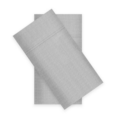 Fieldcrest 300-Thread Cotton Percale 2-Pack Pillowcases