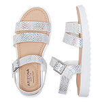 Arizona Big Kids Girls Lido Strap Sandals