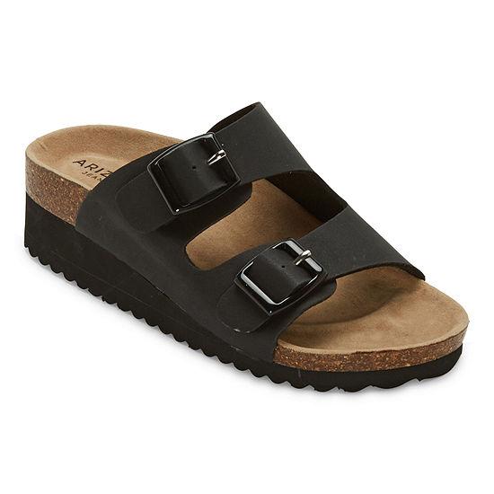 Arizona Womens Zunis Wedge Sandals
