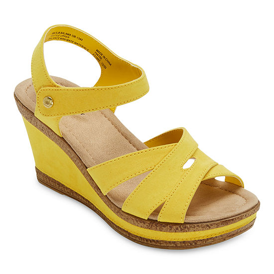 St. John's Bay Womens Balama Wedge Sandals