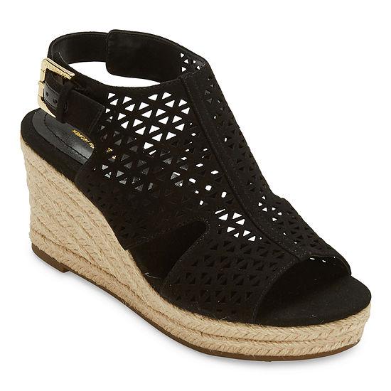 Liz Claiborne Womens Hanahan Wedge Sandals