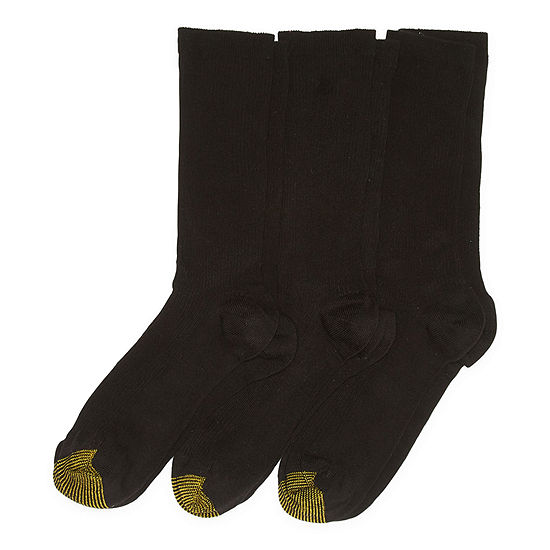 Gildan 3 Pair Crew Socks Womens