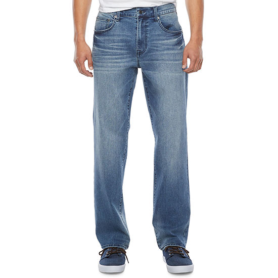 Arizona Mens Advance Flex 360 Straight Relaxed Fit Jean