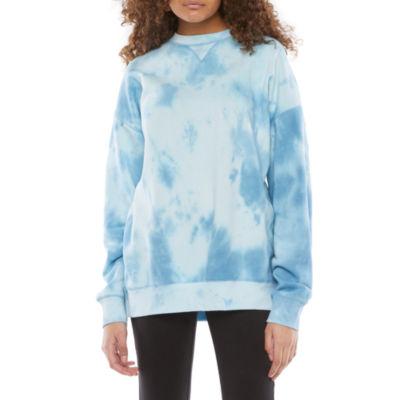Flirtitude Juniors Oversized Sweatshirt