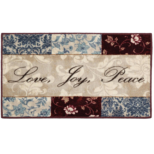 Sentiments Washable Kitchen Rug