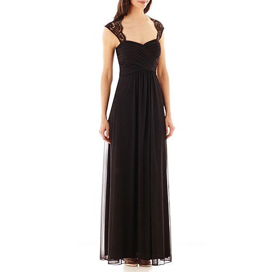 ac6d63e464 Scarlett Lace Shoulder Long Dress