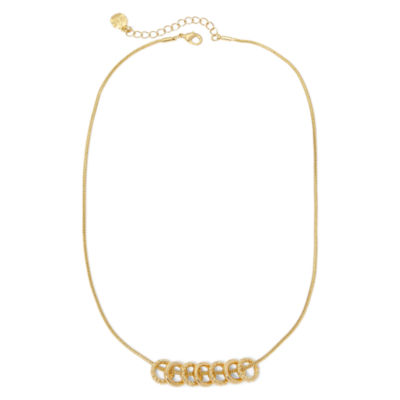 Monet® Gold-Tone Pendant Necklace