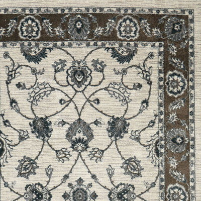Mohawk Home® Traditional Floral Esque Rectangular Rug