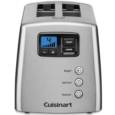 Cuisinart CPT-420 Countdown Leverless 2 Slice Toaster