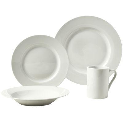 Tabletops Gallery® Parker 16-pc. Porcelain Dinnerware Set