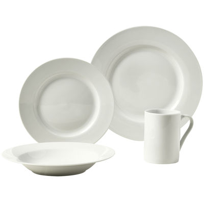 Tabletops Gallery® Parker 16 Pc. Porcelain Dinnerware Set