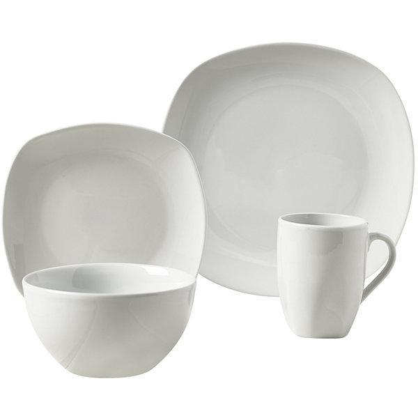 Tabletops Gallery Logan 16 pc Ceramic Dinnerware Set