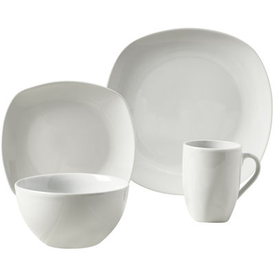 Tabletops Gallery® Logan 16 Pc. Ceramic Dinnerware Set