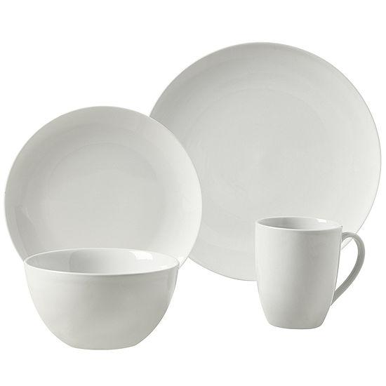 Tabletops Gallery Adams 16 pc Ceramic Dinnerware Set