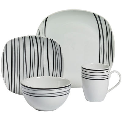 Tabletops Gallery® Justin 16-pc. Dinnerware Set
