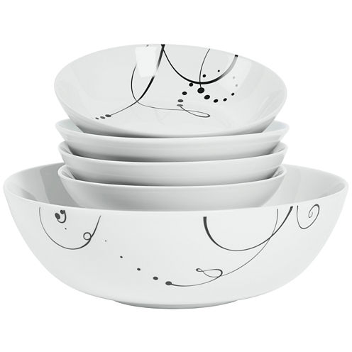 Tabletops Gallery® Pescara 5-pc. Pasta Set