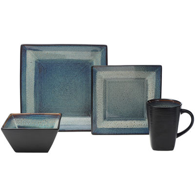 Oneida® Adriatic 16-pc. Square Dinnerware Set - Service for 4