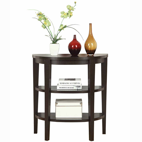 Lark 3-Shelf Console Table