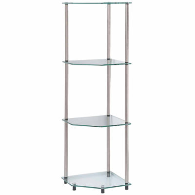 Wes 4-Tier Corner Shelf