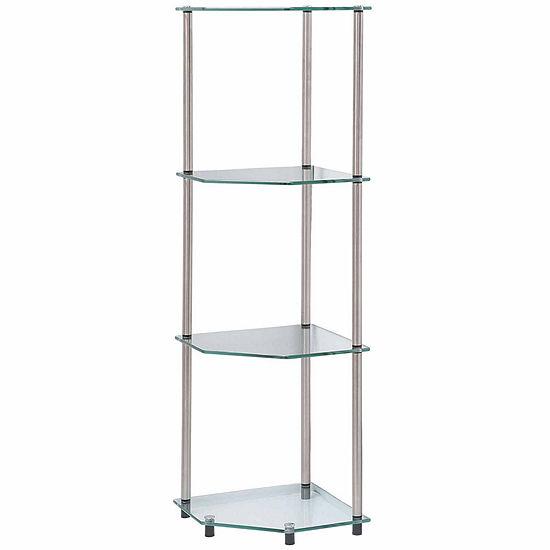 Wes 4-Tier Corner Shelf