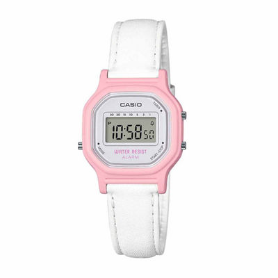 Casio Womens White Strap Watch-La11wl-4a