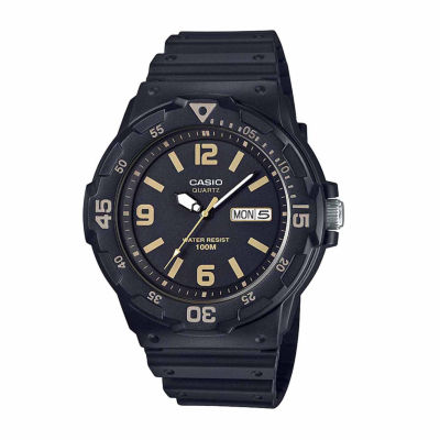Casio Mens Black Strap Watch-Mrw200h-1b3v
