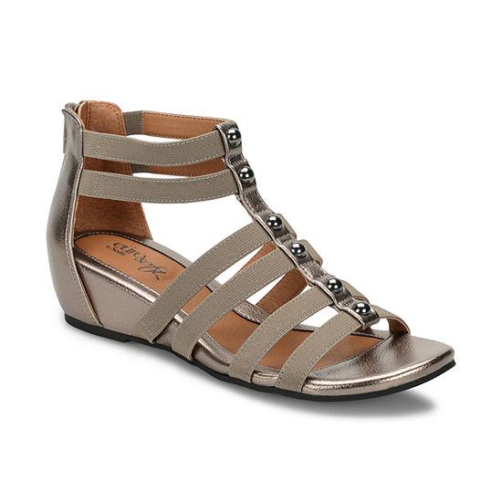 Eurosoft Womens Rayelle Wedge Sandals
