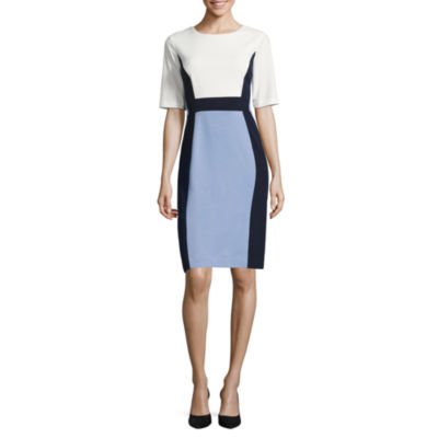 Ronni Nicole Elbow Sleeve Sheath Dress
