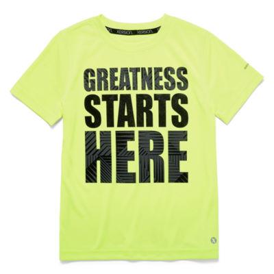Xersion Boys Poly T-Shirt - Preschool 4-7