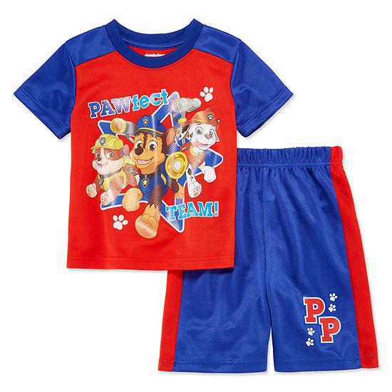 Boys 2-pc. Paw Patrol Short Set Toddler