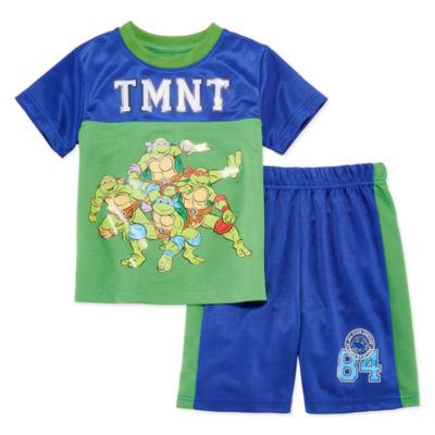 2-pc. Teenage Mutant Ninja Turtles Short Set Toddler