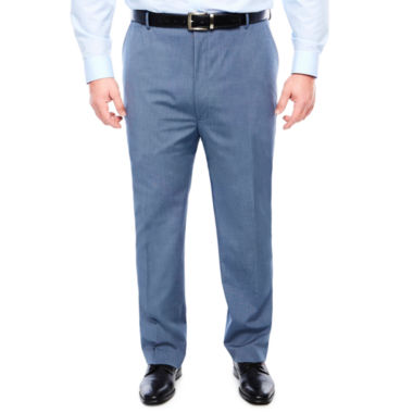 JF J.Ferrar Pattern Stretch Classic Fit Suit Pants - Big and Tall