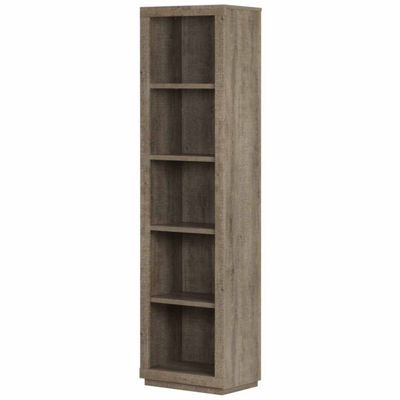 Kanji 5-Shelf Narrow Bookcase