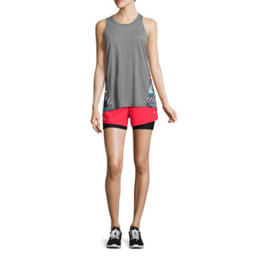 jcpenney.com | Xersion™ Colorblock Muscle Tank or Woven Layered Perforated Shorts