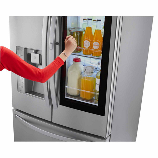 LG ENERGY STAR® 30 cu. ft. Smart Wi-Fi Enabled InstaView™ Door-in-Door® Refrigerator
