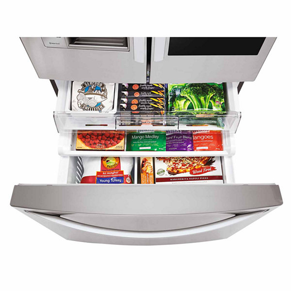 LG ENERGY STAR® 23.5 cu. ft. Wi-Fi Enabled InstaView™ Door-in-Door® Counter-Depth Refrigerator