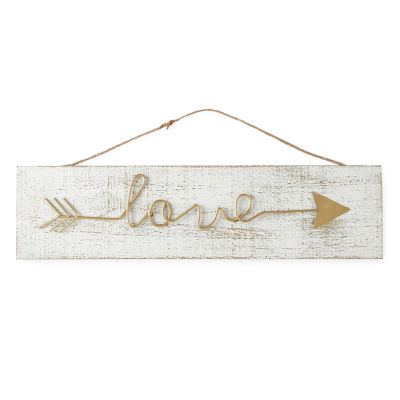 JCPenney Home Love Arrow Block