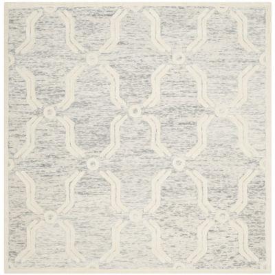 Safavieh Aodhagan Geometric Hand-Tufted Wool Rug