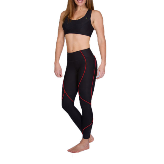 Comfortwear By Marena Firm Control Full-Length Compression Leggings