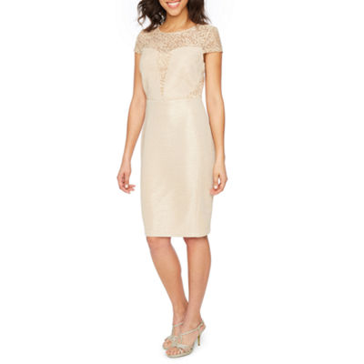 Melrose Short Sleeve Sheath Dress
