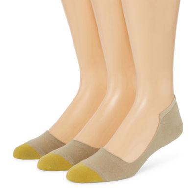 Gold Toe Gt Sp 18 3 Pair No Show Socks-Mens