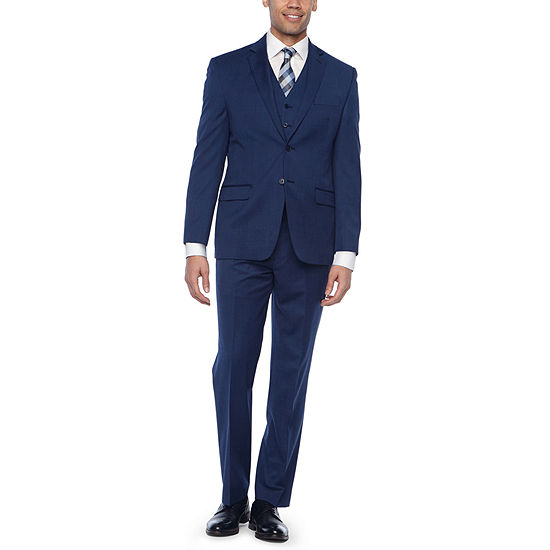 06e512c1f Collection by Michael Strahan Blue Texture Suit - JCPenney