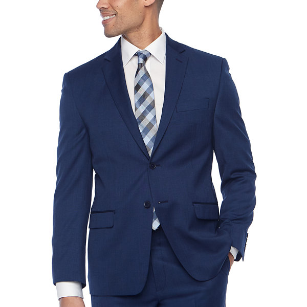 Collection by Michael Strahan  Mens Grid Classic Fit Suit Jacket
